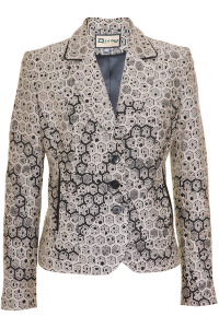 Click to see:Beige and Black Jacket Style: 44497
