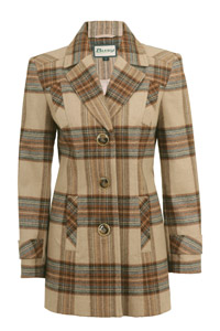 Click to see:Beige Check Coat Style: 44400