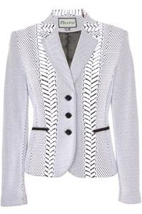Click to see:Black & White with Patterns  Jacket Style: 44480
