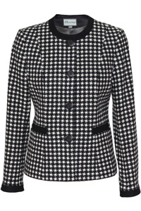 Click to see:Black and White Jacket Style: 44489