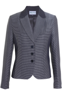 Click to see:Black and White Stripe Jacket Style: 44490