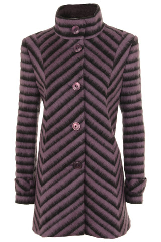 Click for larger image of: Purple Chevron  Coat Style: 44476