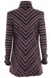 Mouseover to see larger image of: Purple Chevron  Coat Style: 44476