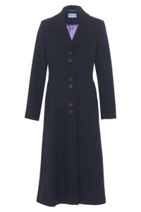 Click to see:Dark Navy Long Coat Style: 44441