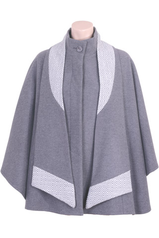 Click for larger image of: Grey Cape Style: 44389