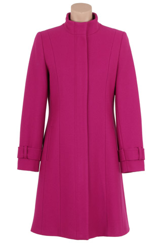 Click for larger image of: Magenta Coat 3/4 Style: 44463