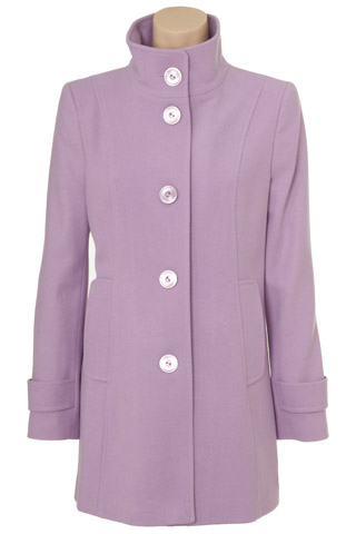 Click for larger image of: Pink Violet Coat Style: 44397