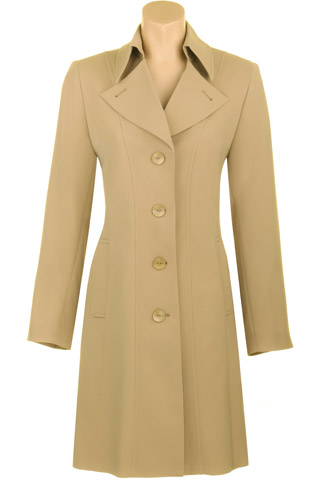 Click for larger image of: Stone Beige Mac 3/4 Style: 44461