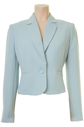 Click for larger image of: Aqua Blue Short Jacket Style: 44410
