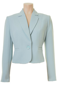 Click to see:Aqua Blue Short Jacket Style: 44410