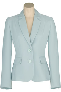 Click to see:Aqua Blue Jacket Style: 44455