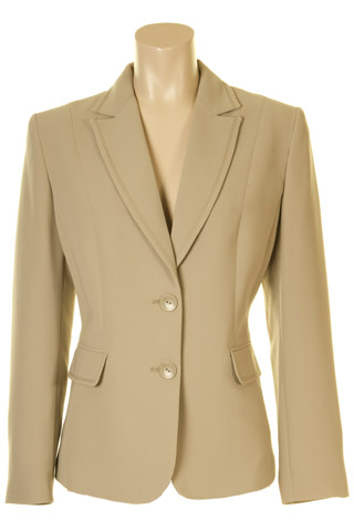 Click for larger image of: Beige Jacket Style: 44363