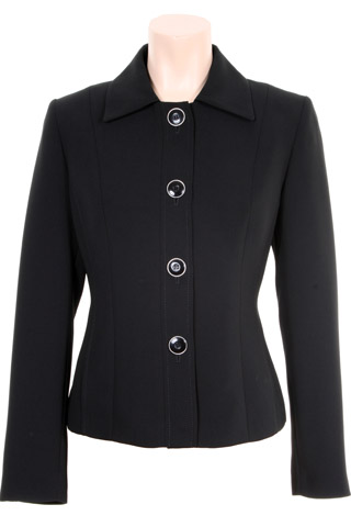 Click for larger image of: Black Short Jacket Style: 44384
