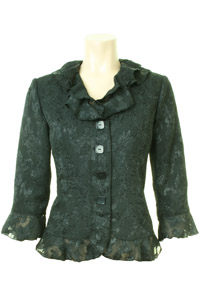 Click to see:Black Lace Jacket Style: 44407