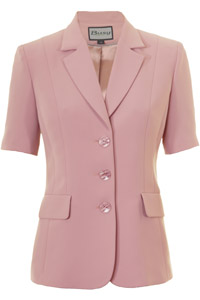 Click to see:Dusty Pink Short Sleeve Jacket Style: 44477