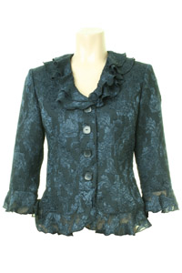 Click to see:Navy Lace Jacket Style: 44407