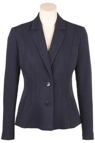 Click for larger image of: Navy Dress Jacket Style: 44457