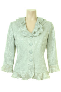 Click to see:Pale Green Lace Jacket Style: 44407