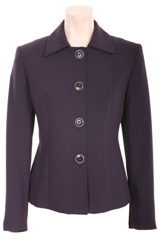 Click for larger image of: Dark Purple Short Jacket Style: 44384
