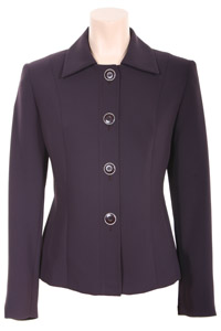 Click to see:Dark Purple Short Jacket Style: 44384