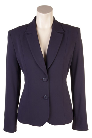 Click for larger image of: Dark Purple Dots Jacket Style: 44429
