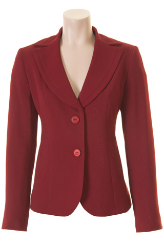 Click for larger image of: Red Sparkle Jacket Style: 44427