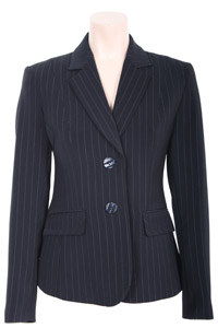 Click to see:Stripe Navy Jacket Style: 44385