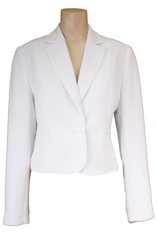 Click for larger image of: White Short Jacket Style: 44410