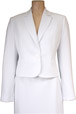 Mouseover to see larger image of: White Short Jacket Style: 44410
