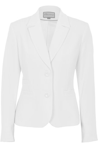 Click for larger image of: White Jacket Style: 44466