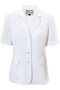 Click to see:White Short Sleeve Jacket Style: 44477