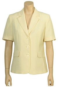 Click to see:Lemon Yellow Short Sleeve Jacket Style: 44382