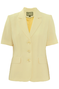 Click to see:Lemon Yellow Short Sleeve Jacket Style: 44477
