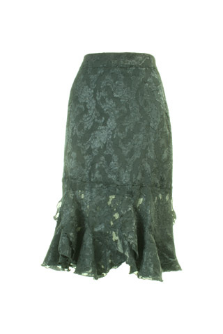 Click for larger image of: Black Lace Skirt Style: 44406