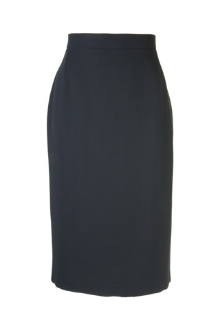 Click for larger image of: Black Dots Pencil Skirt Style: 44430