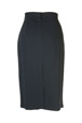 Mouseover to see larger image of: Black Dots Pencil Skirt Style: 44430