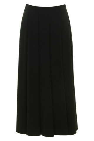 Click for larger image of: Black Flared Skirt Style: 44459