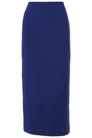 Click for larger image of: Dark Blue Long Skirt Style: 44330