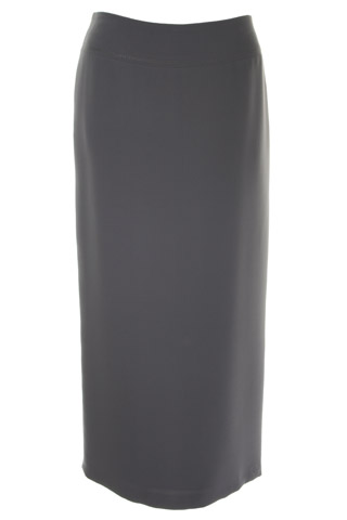 Click for larger image of: Dark Grey Long Skirt Style: 44330