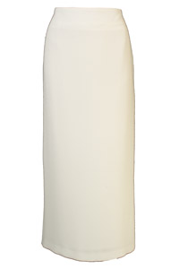 Click to see:Light Cream Long Skirt Style: 44330