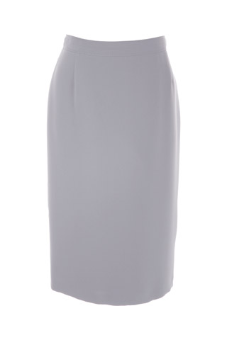 Click for larger image of: Silver Grey Pencil Skirt Style: 44350