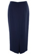 Mouseover to see larger image of: Navy Long Skirt Style: 44330