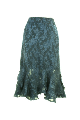 Click for larger image of: Navy Lace Skirt Style: 44406