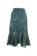 Mouseover to see larger image of: Navy Lace Skirt Style: 44406