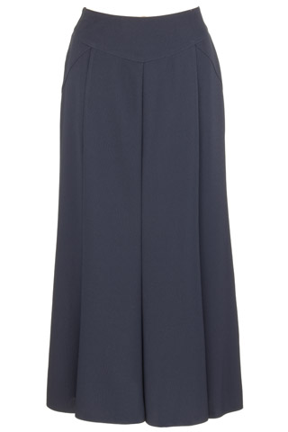 Click for larger image of: Navy Sparkle Long Skirt Style: 44420