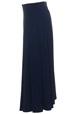 Mouseover to see larger image of: Navy Flared Skirt Style: 44459
