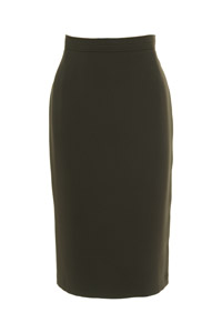 Click to see:Olive Green Pencil Skirt Style: 44350