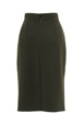 Mouseover to see larger image of: Olive Green Pencil Skirt Style: 44350