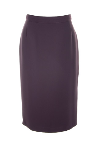 Click for larger image of: Dark Purple Pencil Skirt Style: 44350