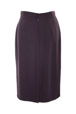 Mouseover to see larger image of: Dark Purple Pencil Skirt Style: 44350